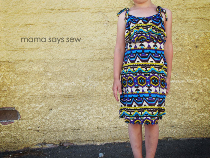 Ruffled sundress tutorial by Mama Says Sew