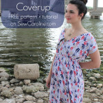 Swim Cover Up by Sew Caroline