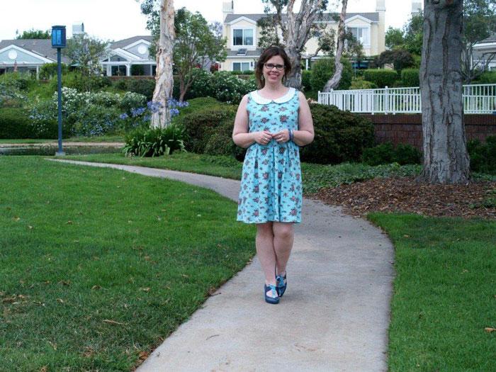 Knit-Summer-Sundress - Flamingo Toes