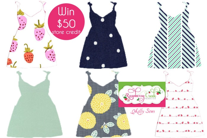 Win $50 to Raspberry Creek Fabrics