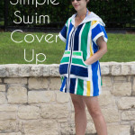 Swim Cover Tutorial - from 1 or 2 beach towels - Melly Sews