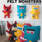 felt-monsters-free-sewing-pattern-tutorial