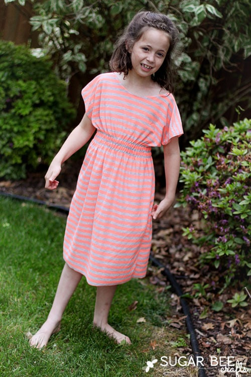 girls-dolman-dress-super-simple by Sugar Bee Crafts