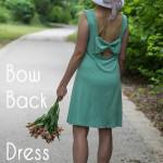 Bow Back Dress Tutorial – (30) Days of Sundresses Day 1