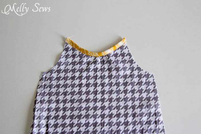 Step 1 - Super Simple and Free Girls Dress pattern by mellysews.com