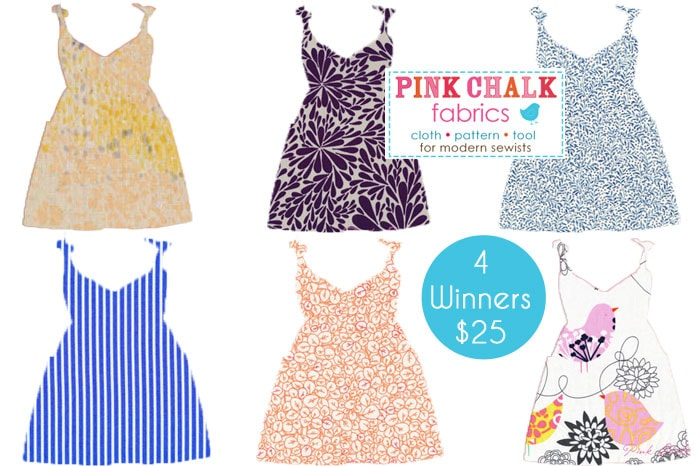 Win fabric from Pink Chalk Fabrics