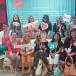 Attendees at Baby Lock's Common Threads event
