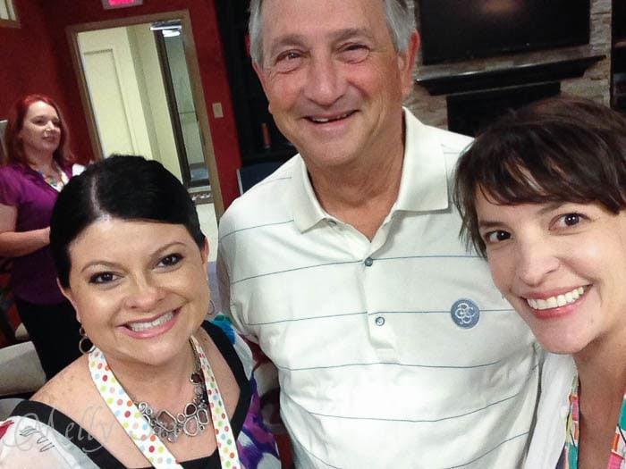Patty Young, Ken Tacony and Melissa Mora