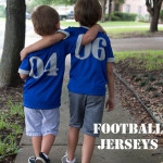 Adorable Football Jerseys by Melly Sews