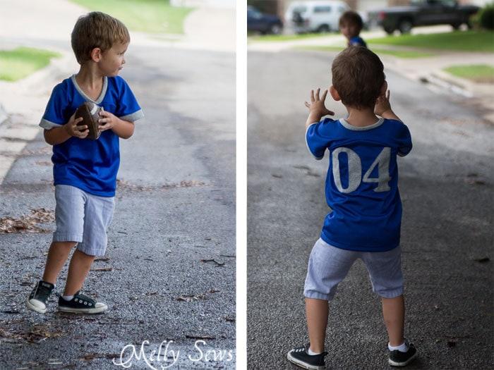 Love these football jerseys!