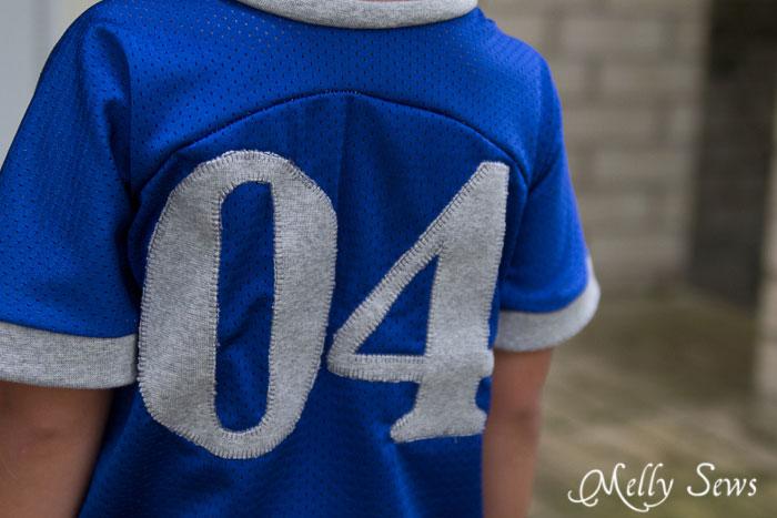 Jersey Fabric for a handmade football jersey