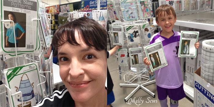 Blank Slate Patterns at Joann Stores