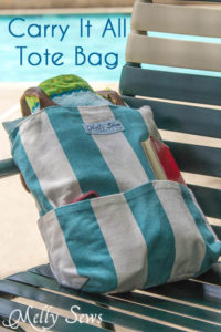 Carry Everything Tote Tutorial
