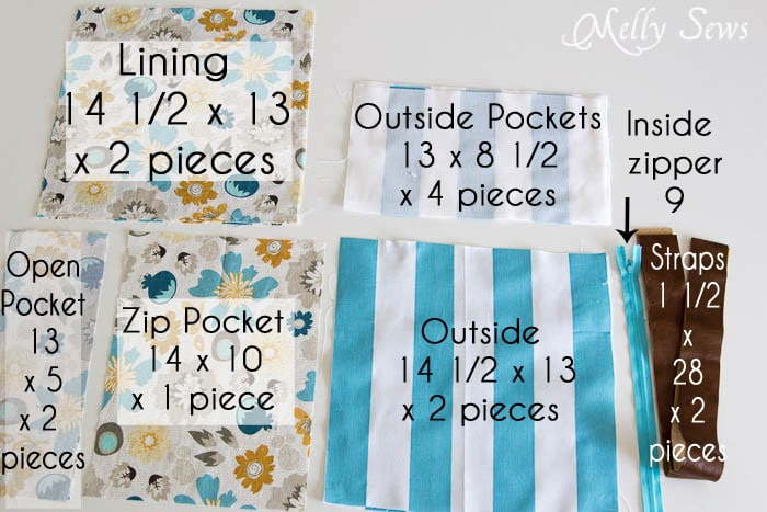 Materials - Carry Everything Tote Tutorial