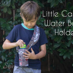 Little Camper Water bottle holder - tutorial by Melly Sews
