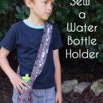 How to Sew a Water Bottle Holder - a Tutorial by Melly Sews