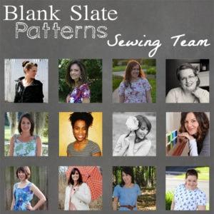 Blank Slate Patterns Sewing Team