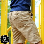 Clean Slate Shorts by Blank Slate Patterns sewn by sewVery