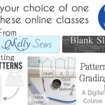 Win an online course from Melly Sews - and learn to make your own patterns