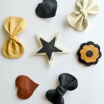 Leather Hair Acessories by Lemon Squeezy Home