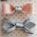 Tiny bows by Girl, Inspired