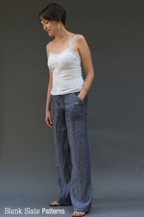 Oceanside Shorts and Pants Sewing Pattern - Shorts on the Line ...