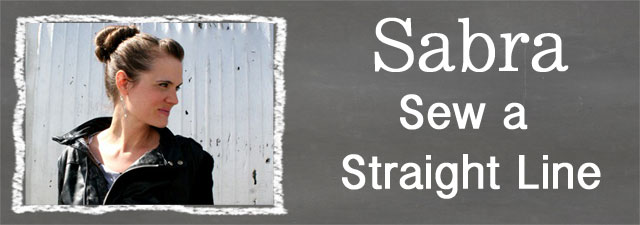 Sabra of Sew a Straight Line
