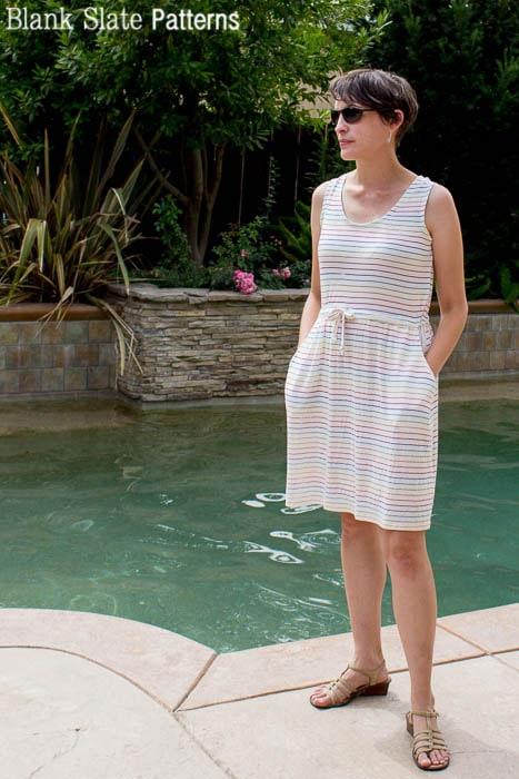 Catalina Dress Pattern - Tank Version - by Blank Slate Patterns