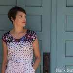 Gorgeous print on this! Catalina Dress Pattern by Blank Slate Patterns