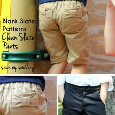 Clean Slate Shorts with sewVery – Blank Slate Sewing Team