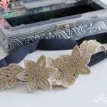 Freestanding Lace Headband DIY Tutorial