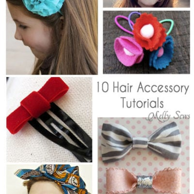 10 Hair Accessory Tutorials