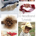 10 Headband Tutorials - DIY Headbands - Melly Sews