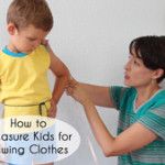 How to Measure Kids to Sew Clothes