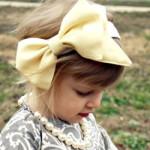 Big Bow Headband by Alida Makes