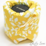 Lens Cozy Tutorial – Padded Camera Lens Case
