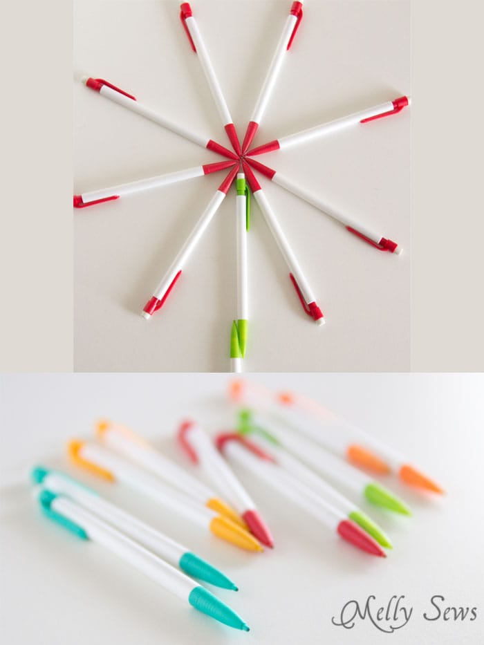 Mechanical pencils - school supplies for sewing