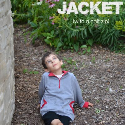 Zippy Jacket with If Only They Would Nap – Blank Slate Sewing Team