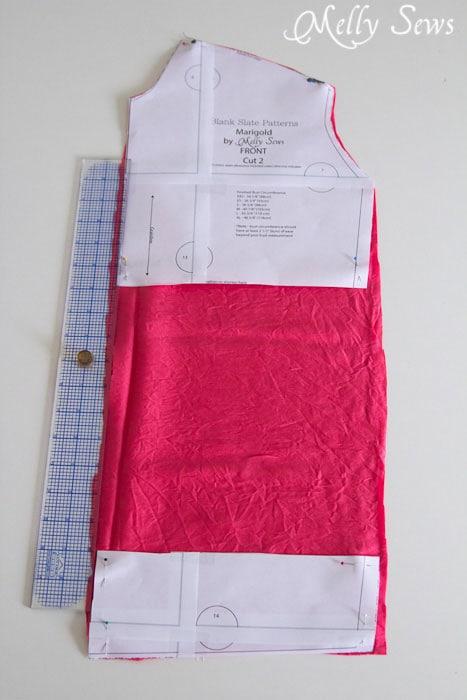 Lengthen bodice to shirt - Melly Sews