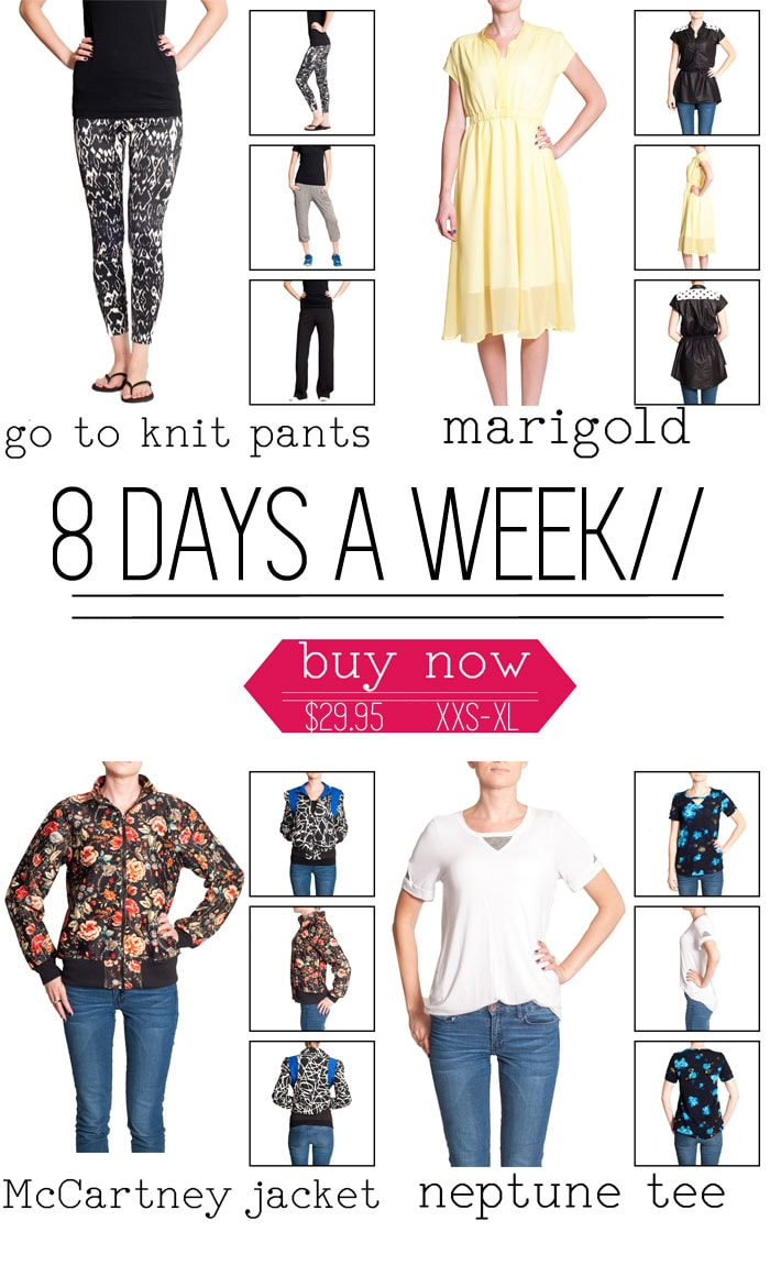 8 Days a Week - Pattern Anthology Women's Sewing Pattern Collection