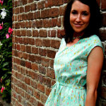 Catalina dress in Cotton+Steel lawn. Pattern by Blank Slate Patterns, sewn by Sew Charleston