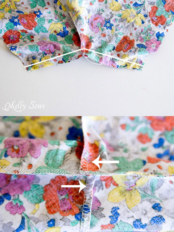 Step 3 -Boxer Pajama Shorts (with free pattern) - MellySews