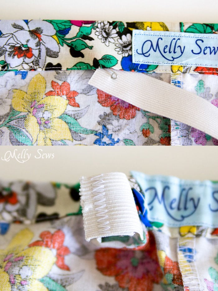 Step 5 - Boxer Pajama Shorts (with free pattern) - MellySews