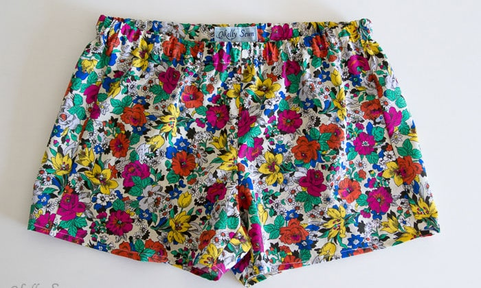 So cute, and so easy - Boxer Pajama Shorts (with free pattern) - MellySews