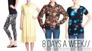 8 Days a Week - Women's PDF sewing Patterns from Pattern Anthology