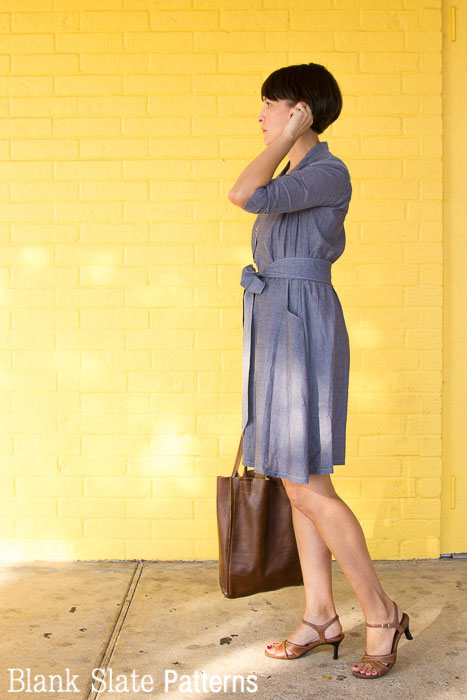 Side view - Marigold Sewing Pattern by Blank Slate Patterns
