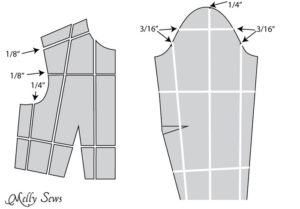 How to make a sleeve bigger - Melly Sews