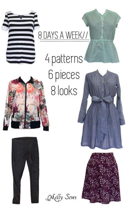 Sew a Capsule Wardrobe