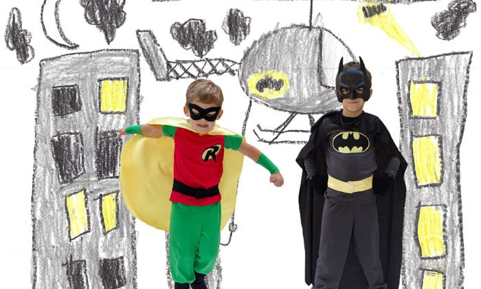 Kid superhero costumes - Melly Sews