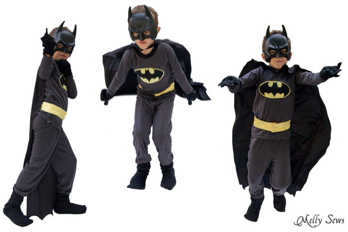 DIY Batman Costume - Melly Sews